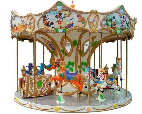 BNBC-8A Carousel rides for sale with 8 seat