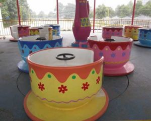 tea cup rides for sale with 9 cups