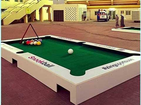 Grand Snookball Table for Sale