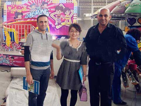 Pakistan Customer In Our Factory