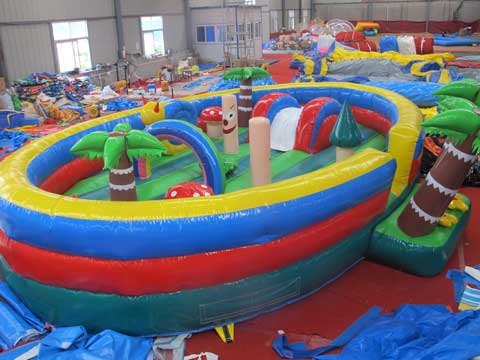 Kids Bounce House to Pakistan