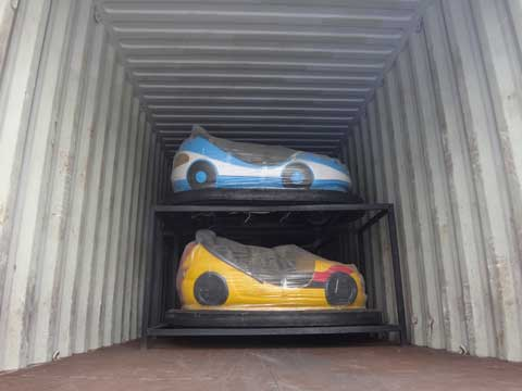 Shipping Bumper Cars to Pakistan