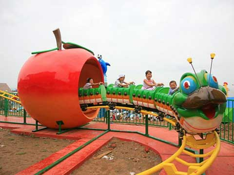 Slide Worm Roller Coaster for Pakistan