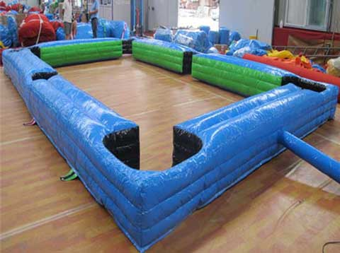 Blue Inflatable Snookball Table for Sale
