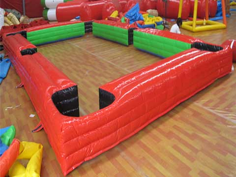 Red Inflatable Snookball Table for Sale for Pakistan