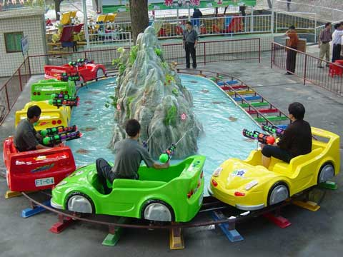 Mini Shuttle Roller Coaster for Kids