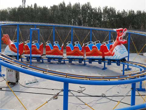 Red Dragon Roller Coaster for Pakistan