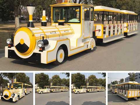 BNBT-41A Shopping Mall Trackless Train for Sale