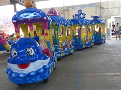 BNOT-A Ocean Theme Trackless Train for Sale