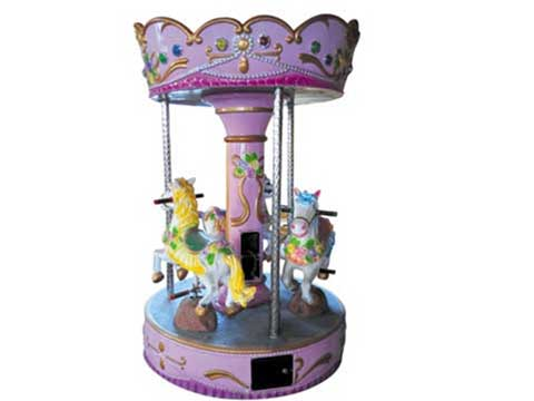 Mini Coin Operated Carousel for Kids