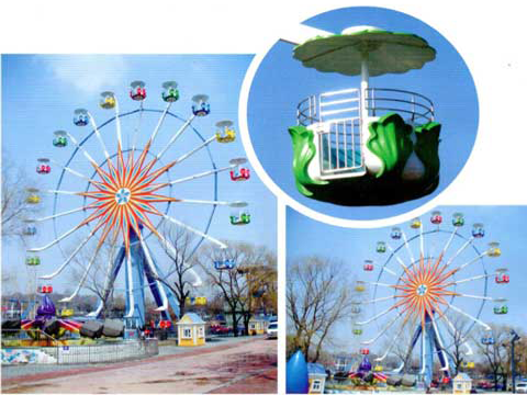 36 Meter Ferris Wheel Rides for Pakistan