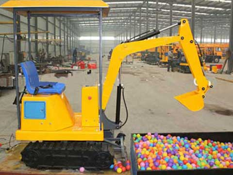 Playland Toys Kids Excavator Rides for Sale