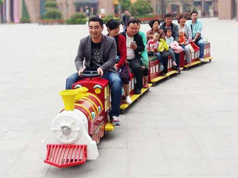 Kids Playland Toys - Trackless Train for Sale