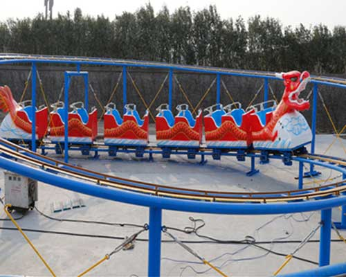 Kiddie Dragon Roller Coaster for Pakistan