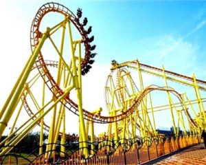 500 Meters Large Roller Coaster for Pakistan
