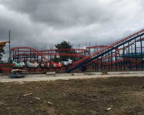 Wild Mouse Kiddie Roller Coaster for Pakistan