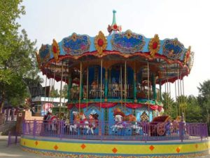 46 Seat Double Decker Carousel Rides for Sale In Pakistan