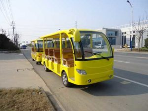 Yellow Electric Bus for Sale