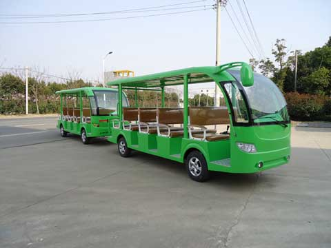 Green Electric Bus for Sale from Beston