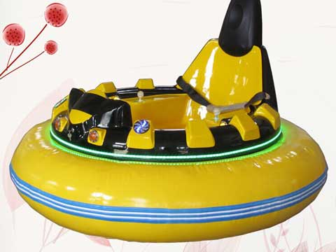 Yellow New Inflatable Bumper Cars for Sale In Pakistan