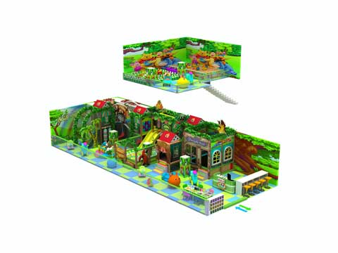 Kiddie Green Commercial Indoor Playground Equipment