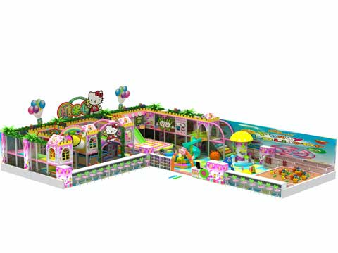 Kids Indoor Playground Equipment for Pakistan