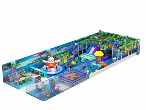 Commercial Indoor Playground Equipment for Pakistan