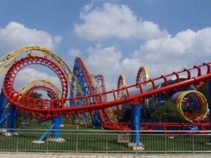 4-Ring Roller Coaster Rides for Sale In Pakistan