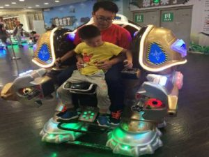 Kiddie Ride On Robot - Playland Toys for Kids