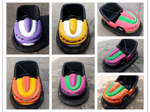 Ground Net Bumper Car Rides for Sale
