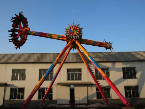 Large 360 Degree Pendulum Rides