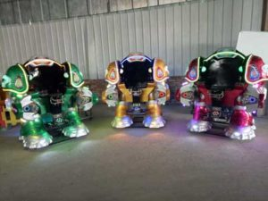 New Kiddie Robot Coin Operated Rides