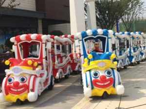 Kiddie Clown Track Train for Sale for Pakistan