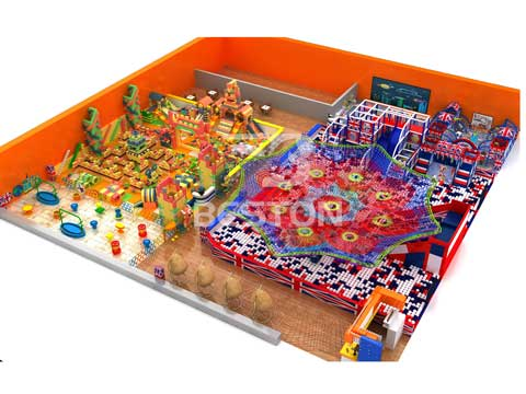 Kiddie Indoor Playground Equipment for Pakistan