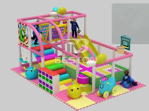 Small Indoor Playground Equipment for Pakistan