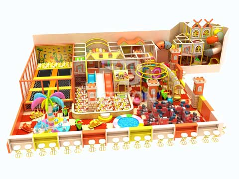 Kids Indoor Playground Equipment for Sale In Pakistan