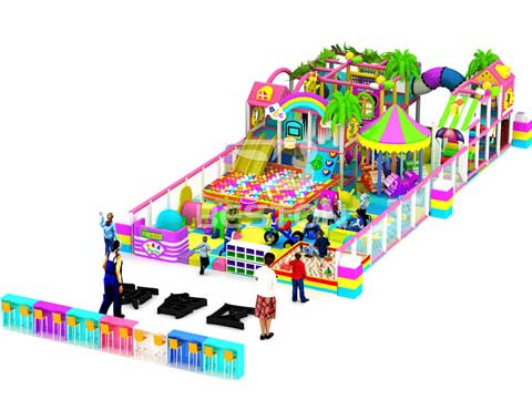 Candy Indoor Playground Equipment for Sale In Pakistan