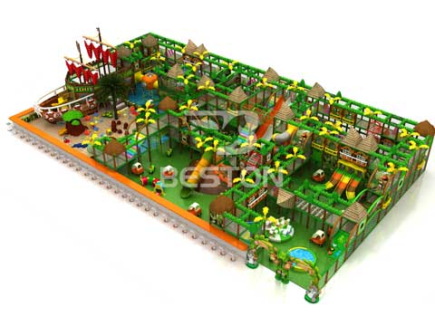 Big Indoor Playground Equipment for Sale In Pakistan