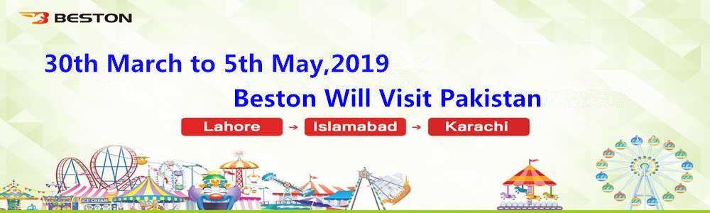 Beston Will Visit Pakistan
