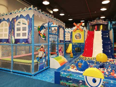 New Indoor Playground Equipment In Pakistan from Beston