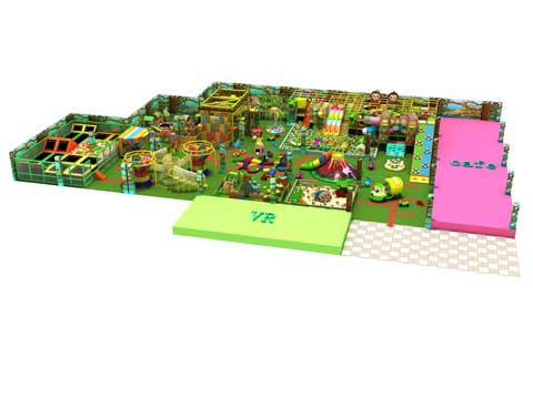 Super Large Indoor Playground Equipment for Pakistan