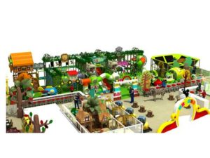 Forest Theme Indoor Playground Equipment for Pakistan Theme Park