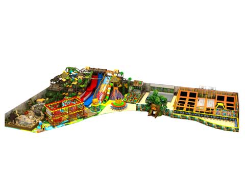 Large Forest Theme Indoor Playground Equipment for Pakistan