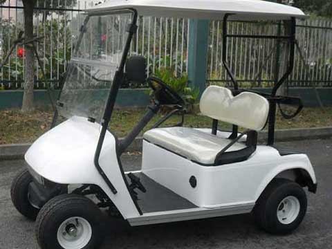 White Two Seat Golf Carts for Sale In Pakistan