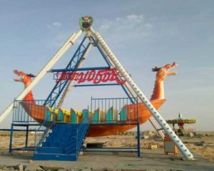 24 Seat Dragon Pirate Ship Rides for Pakistan