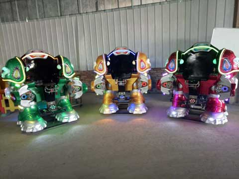 Coin Operated Kids Robot Rides for Lahore