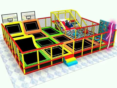 Kiddie Indoor Trampoline Park for Sale In Pakistan