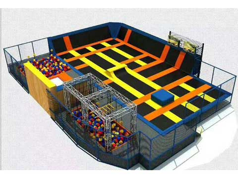 New Indoor Trampoline Park for Sale In Pakistan