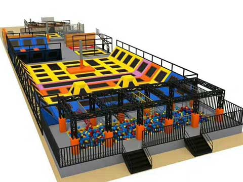 Kids Indoor Trampoline Park for Sale In Pakistan