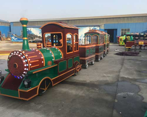Kiddie Vintage Trackless Train Rides for Sale for Pakistan